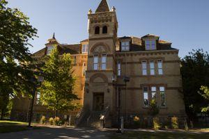 Leah Hogsten     The Salt Lake TribuneUtah State University Old Main Building, Friday, July 22, 2016.