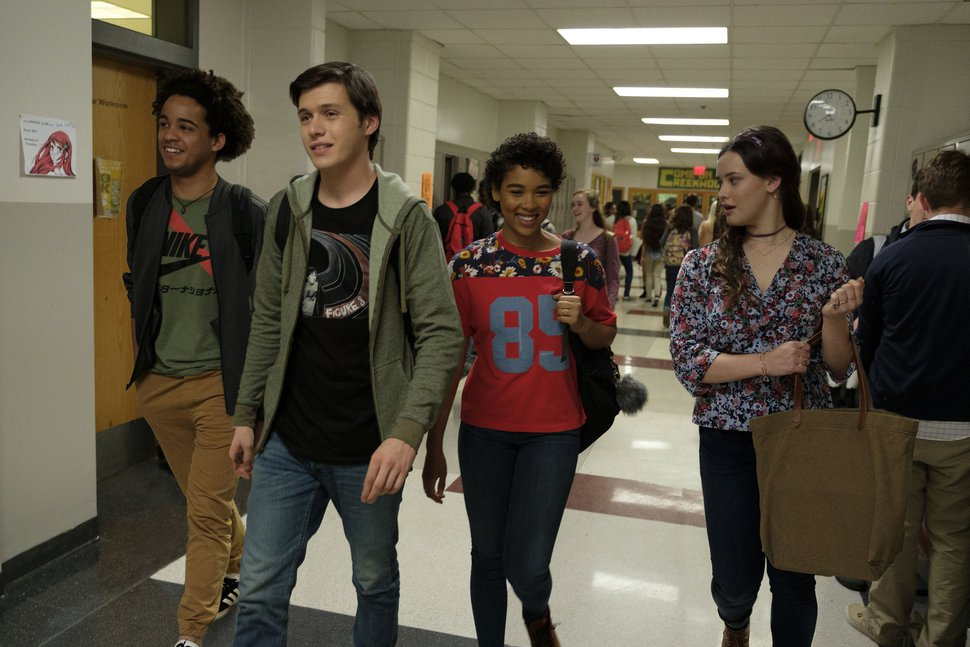 This image released by Twentieth Century Fox shows Jorge Lendeborg, Nick Robinson, Alexandra Shipp and Katherine Langford in