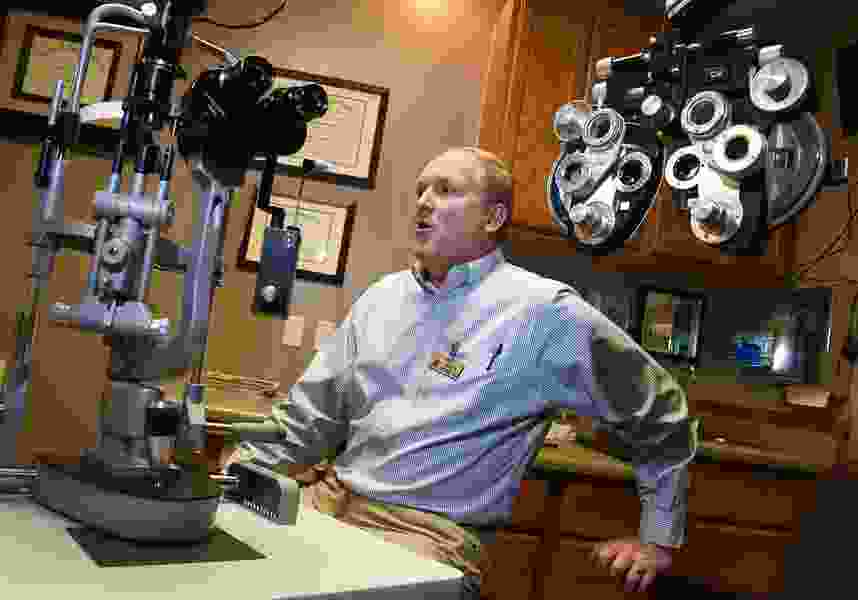 Utah eye clinic is not owned by members of a polygamous sect, but the building is, and it may be hurting business