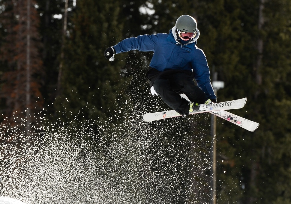 "(Francisco Kjolseth | The Salt Lake Tribune) With recent snowfall combined with extensive snowmaking, Brighton Resort opens for the season on Tuesday, Nov. 21, 2017. Offering a base averaging between 10-20 inches on 3 runs serviced by 2 lifts, ""Top to Bottom"" skiing and snowboarding begins for snow enthusiasts ready for the season."