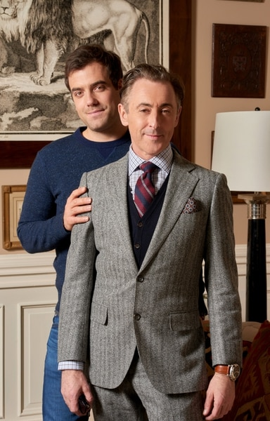 "(Photo courtesy of Jonathan Wenk/CBS) Daniel Ings and Alan Cumming star as a married couple in ""Instinct."""