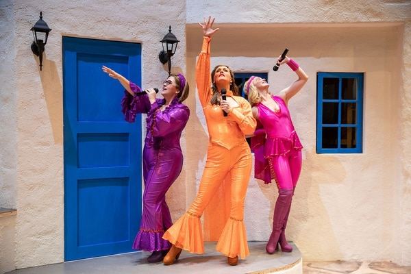 (Courtesy photo) Mary Fanning Driggs (Rosie), left, Coleen Sexton (Donna) and Amy Bodnar (Tanya) perform in Pioneer Theatre Company's production of