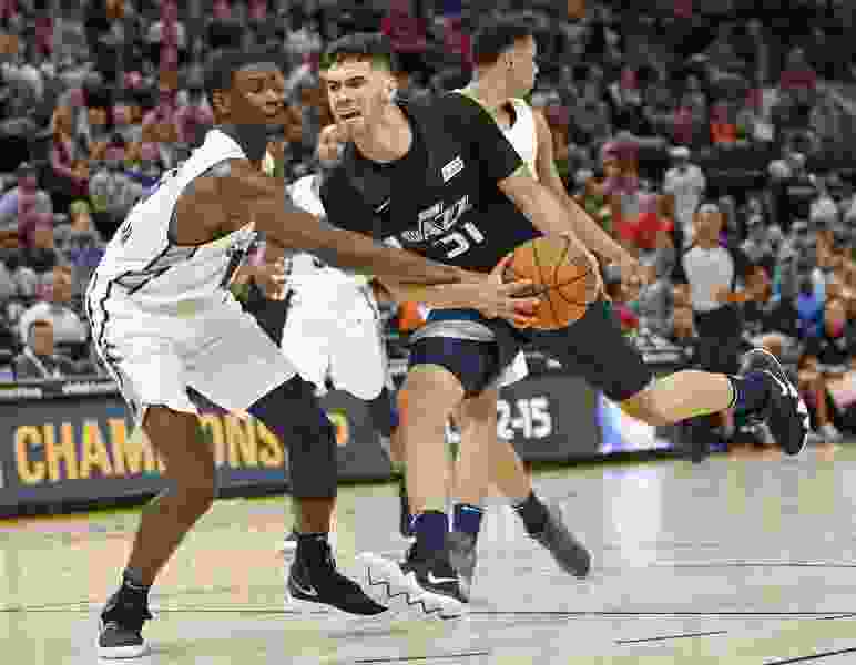 Jazz beat Knicks 90-85 in summer league as Georges Niang leads the way