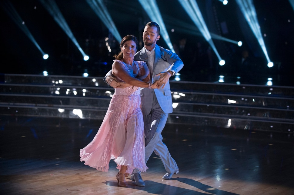 "(Photo courtesy Eric McCandless/ABC) Danelle Umstead and Artem Chigvintsev perform on ""Dancing with the Stars."""
