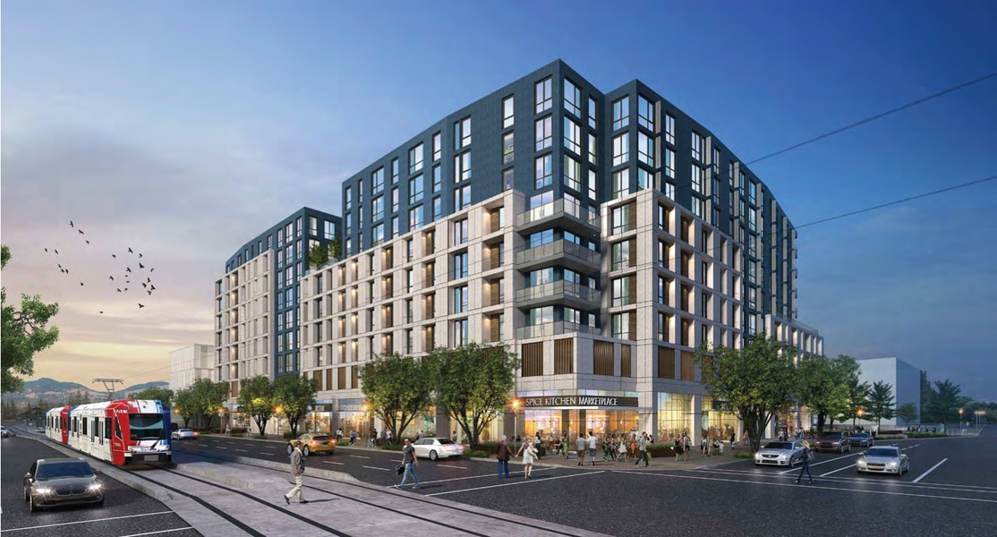 Demolition clears way for 'striking' new buildings and more affordable housing on Salt Lake City's 400 South