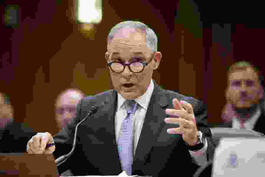 EPA's Pruitt spent $1,560 on 12 customized fountain pens from Washington jewelry store