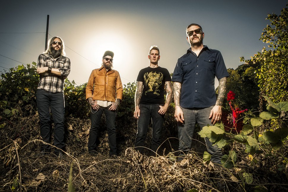 Courtesy photo MAstodon, with bassist/vocalist Troy Sanders at left