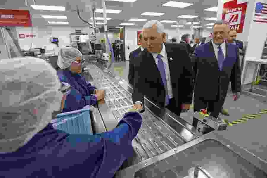 Robert Gehrke: Pence's visit to Merit Medical highlights the complexity of prickly policy problems and political fandom