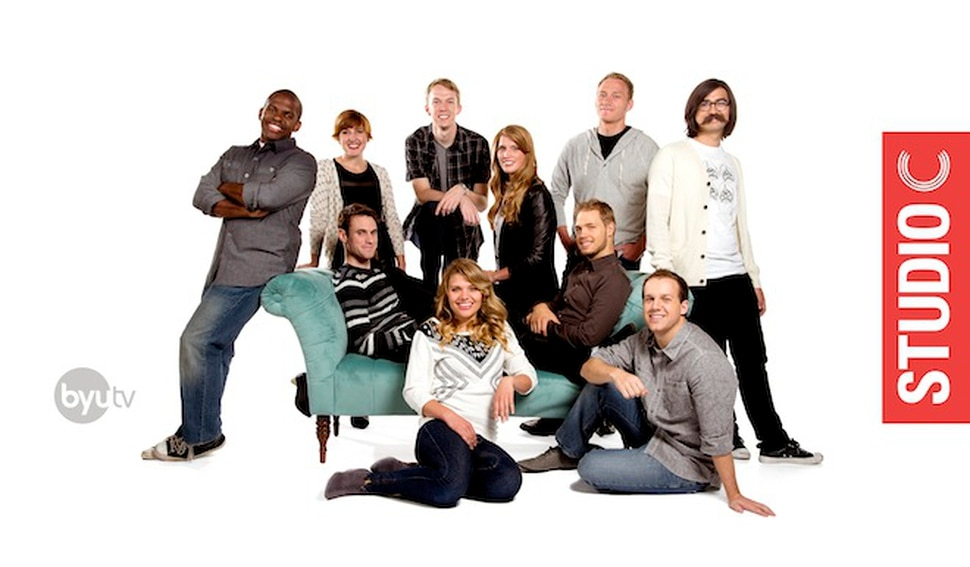 (Photo courtesy Mark A. Philbrick/BYU) The original cast of Studio C. BYUtv is currently searching for a new cast for the next season of the sketch-comedy show.