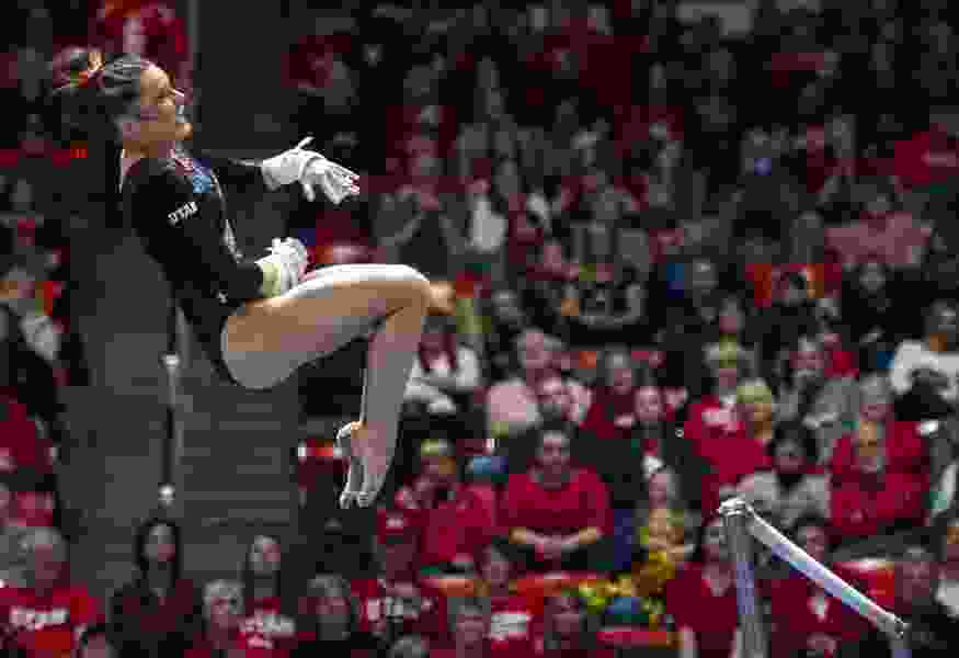 Utah gymnast Missy Reinstadtler wants to be an all-arounder again, but will 'trust the process' as she works to rebound from injury