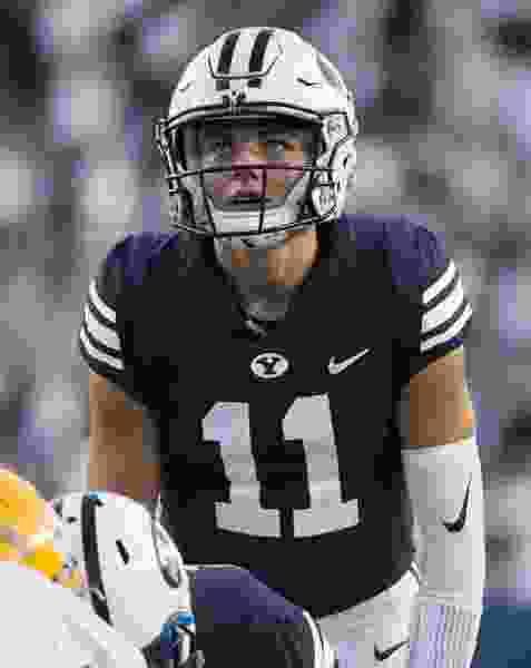 Freshman quarterback Zach Wilson will make his first career start for BYU against Hawaii on Saturday