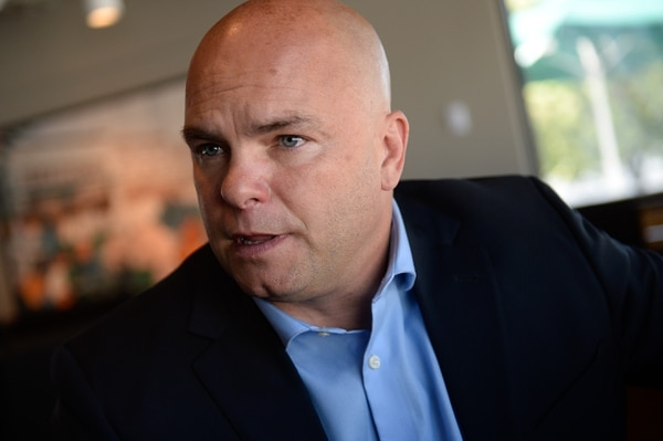 Francisco Kjolseth | The Salt Lake Tribune Joe Darger, one of the state's most high-profile polygamist sits down for an interview on Wed. June 14, 2017, to discuss his decision to join the race for mayor of Herriman.