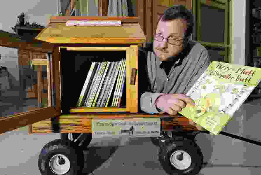 Todd Bol, whose Little Free Library brought books to the street corner, dies at 62