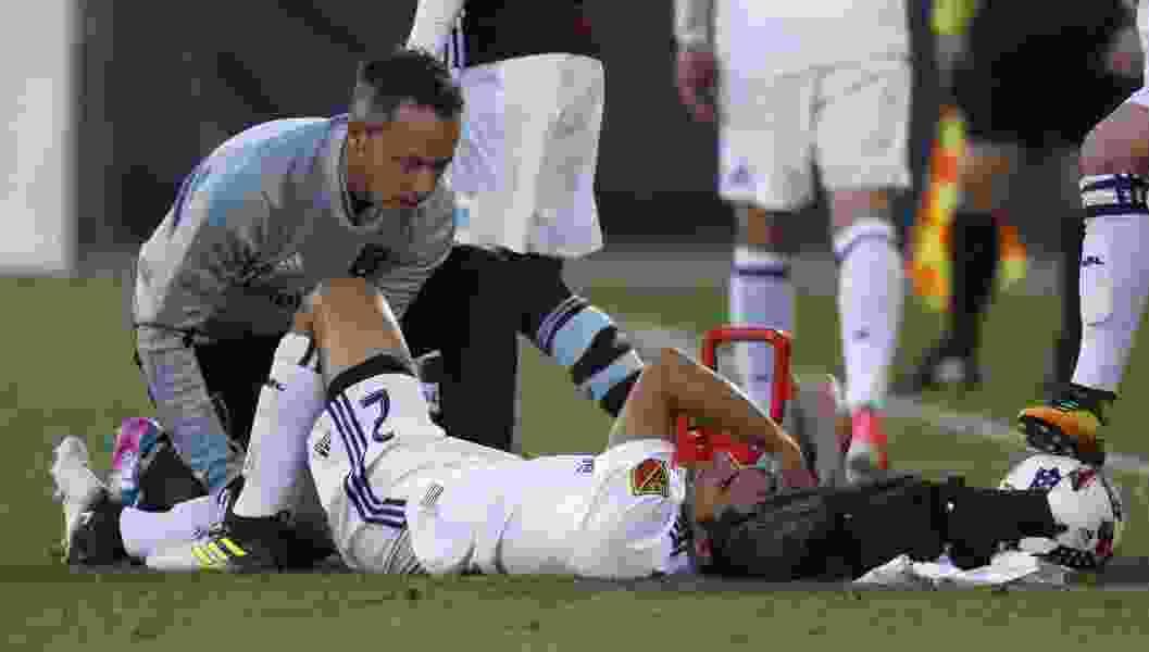Real Salt Lake defender Tony Beltran's season uncertain after knee injury