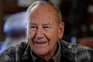 (Trent Nelson  |  The Salt Lake Tribune) Former Rep. Jim Hansen at his Farmington office, Tuesday, May 16, 2017.