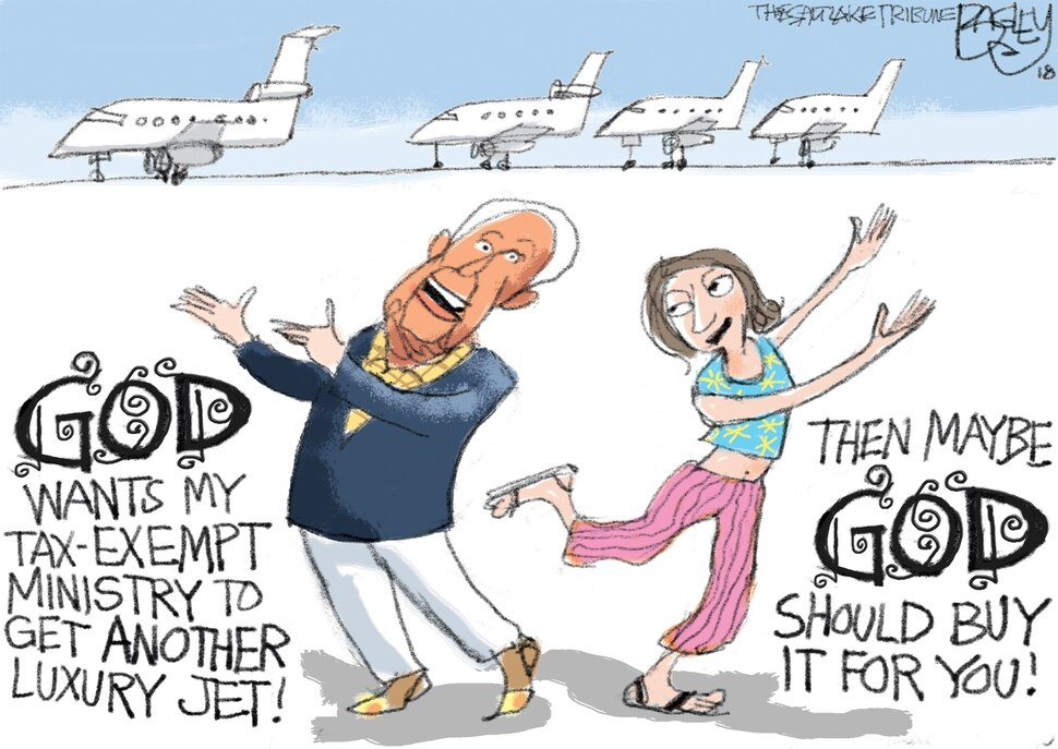 This Pat Bagley cartoon appears in The Salt Lake Tribune on Thursday, May 31, 2018.