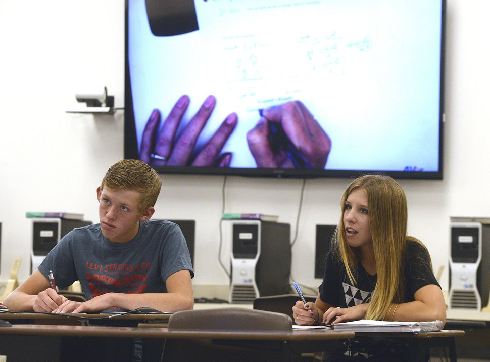 Tiny Box Elder School Blends Technology With Ranching Life