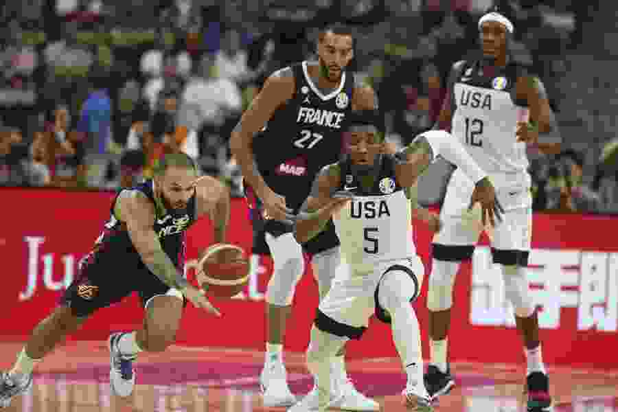 Rudy Gobert propels France past Donovan Mitchell-led Team USA in World Cup quarterfinal stunner