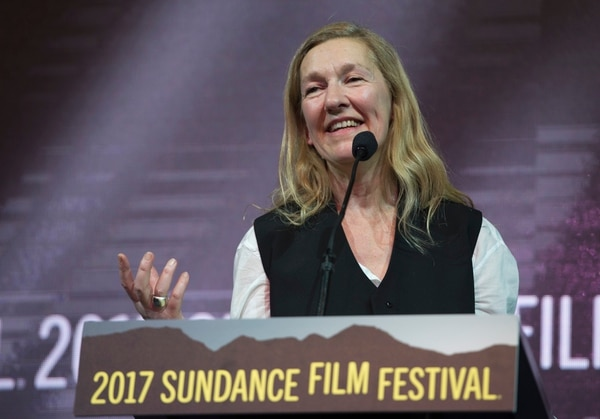 Rick Egan   The Salt Lake Tribune Director Pascale Lamche receives the Directing Award: World Cinema Documentary for the film ÒWinnieÓ at the 2017 Sundance Film FestivalÕs Awards Ceremony, Saturday, January 28, 2017.