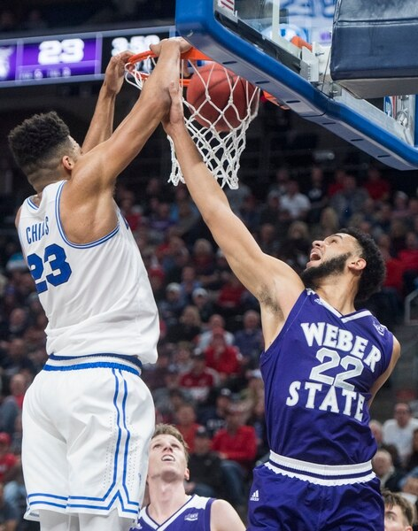Byu Holds Off Weber State 74 68 In Second Game Of Beehive