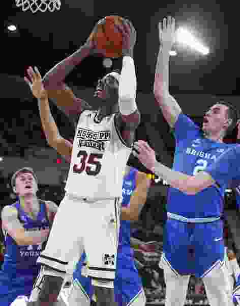 Turnovers, leaky defense doom BYU to third-straight loss, 103-81 at No. 19 Mississippi State