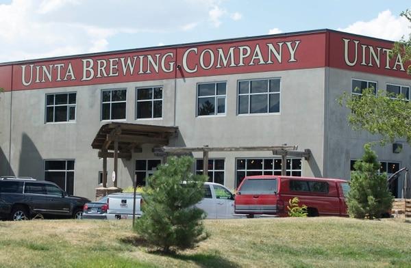 (Rick Egan | The Salt Lake Tribune) Uinta Brewing Company at 1722 S. Fremont Drive, Salt Lake City.