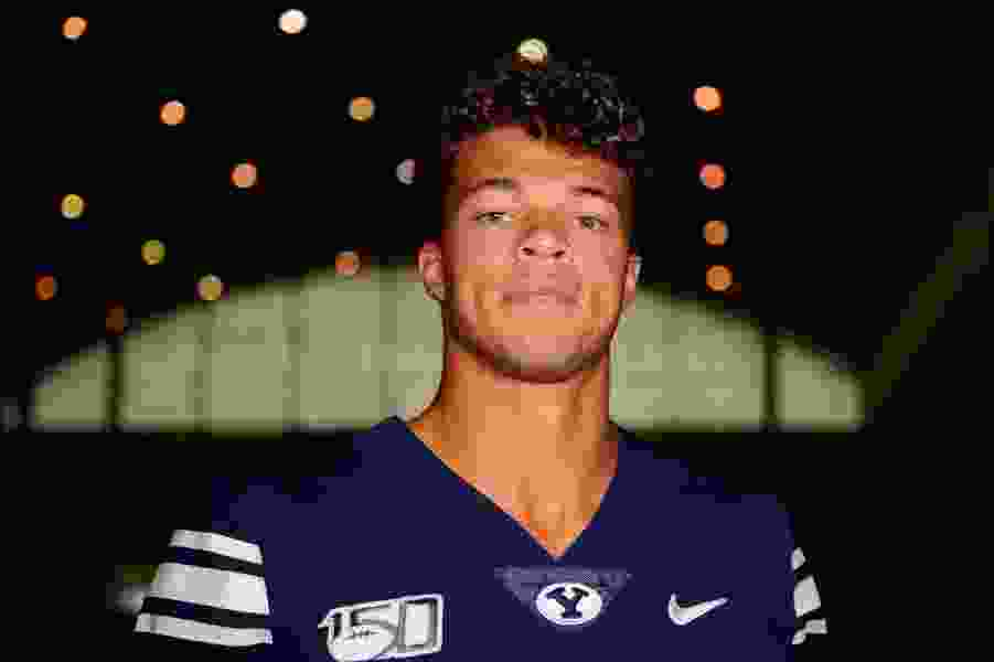 Jaren Hall will make history Saturday as BYU's first black starting quarterback. He's embracing the moment.