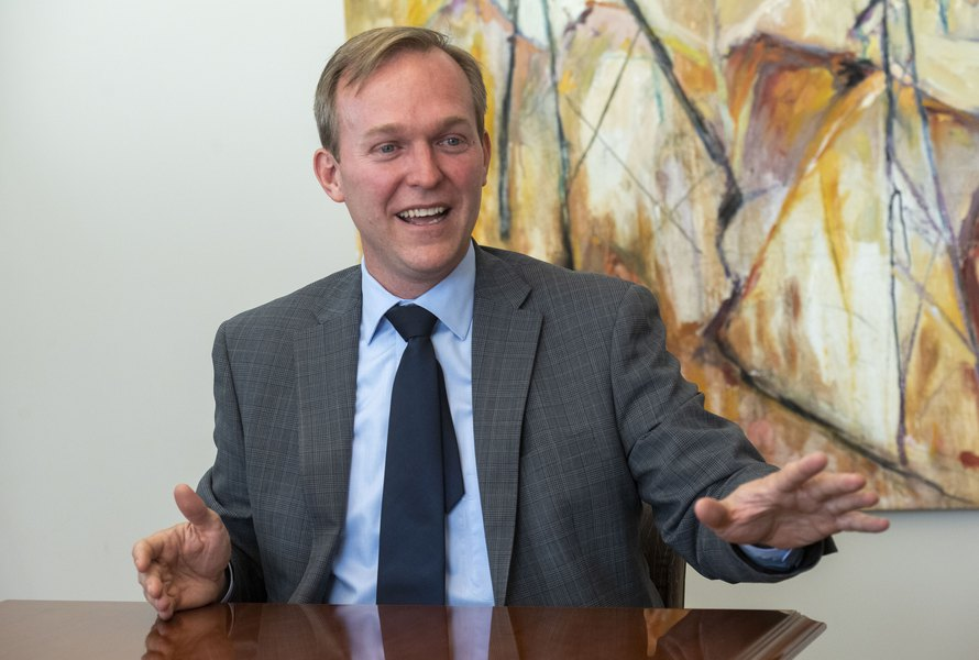 Utah Rep. Ben McAdams dodges questions on Trump impeachment, but says he will address it Friday