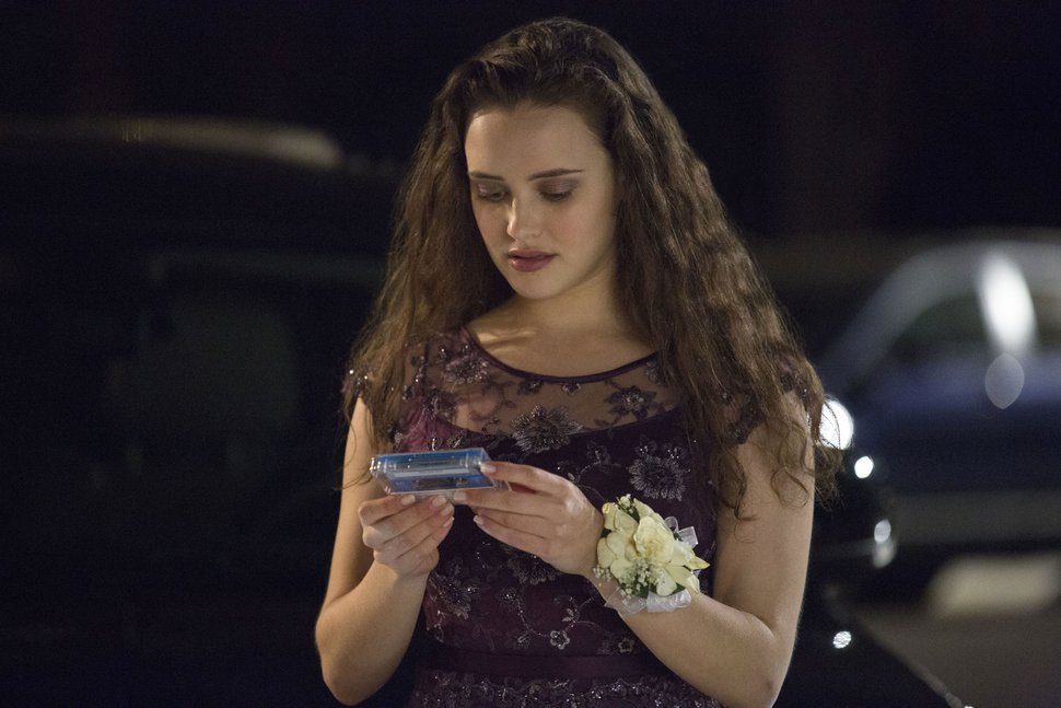 (Associated Press | Beth Dubber, Netflix) This file image released by Netflix shows Katherine Langford as Hannah Baker in a scene from the series