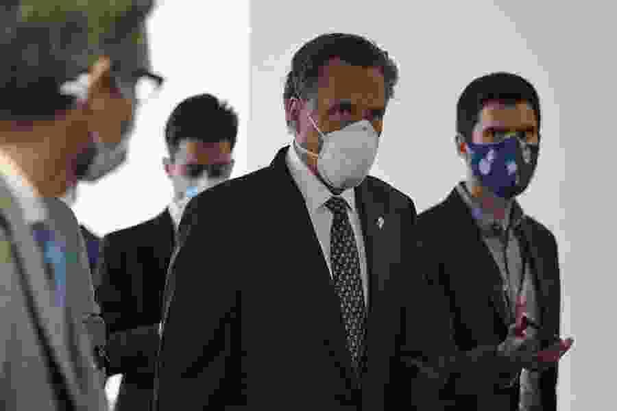 Mitt Romney seeks COVID-19 aid for rural areas