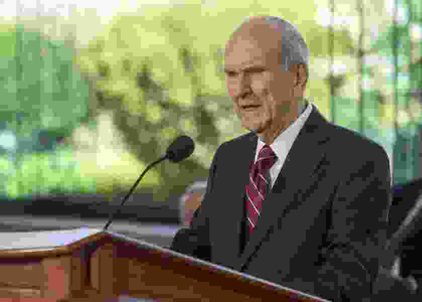 This week in Mormon Land: Nelson says 'hang on,' 'Elders' Biden and Trump seek converts, a new BYU petition emerges