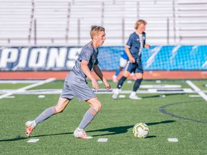 (Photo courtesy of Austin Wallace) Skyridge High School's Austin Wallace won the Gatorade Player of the Year award for boys' soccer in Utah. He is the first boy from Skyridge the win the award for the sport.