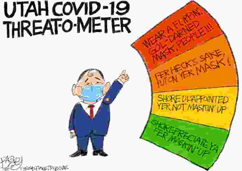 Bagley Cartoon: Fer Heck's Sake