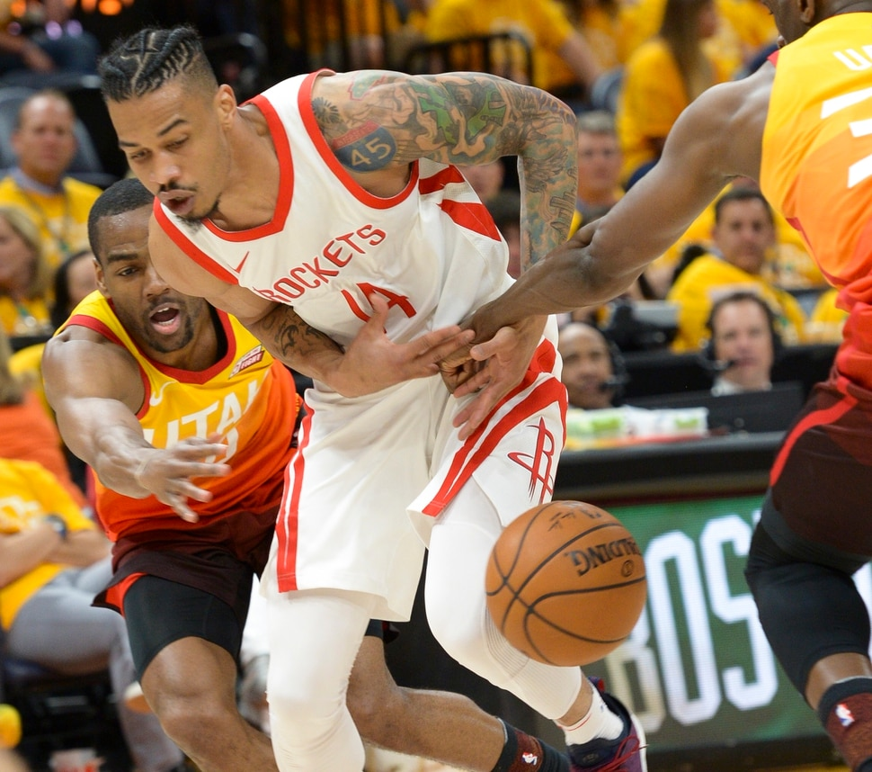 Rockets Jazz Game 1: Kragthorpe: Rudy Gobert And The Jazz's Defense Offer
