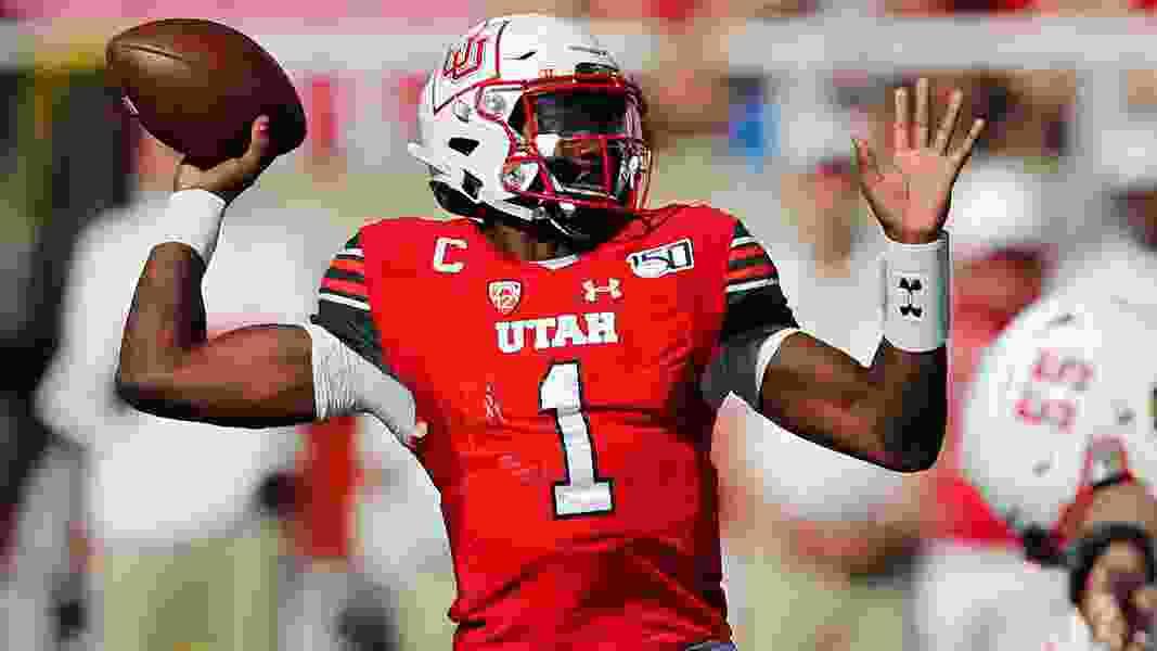 Utah QB Tyler Huntley says he intends to play vs. Washington State