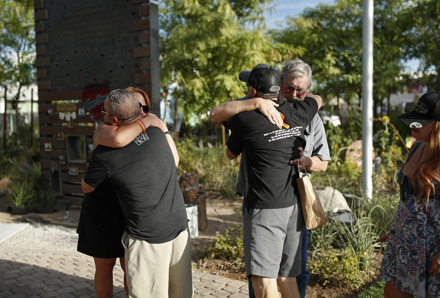Vegas Garden Gives Families Shooting Victims Place To Mourn The
