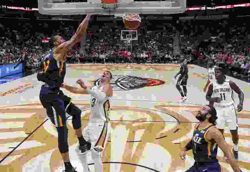 The Triple Team: Andy Larsen's analysis of two breakout games from Ricky Rubio and Rudy Gobert as Jazz smash Pelicans