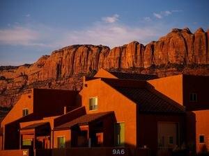 (Trent Nelson  |  The Salt Lake Tribune) Rim Vistas, a subdivision in Moab on Thursday, July 15, 2021.