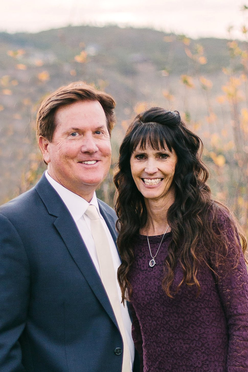 (Photo courtesy of The Church of Jesus Christ of Latter-day Saints) Norman and Wendy Nelson Maxfield. Wendy Maxfield, daughter of church President Russell M. Nelson, died Friday, Jan, 11, 2019, after a battle with cancer.