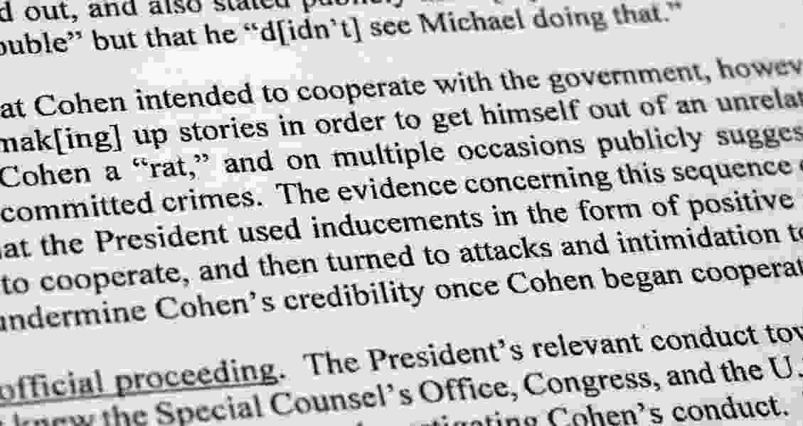 Political Cornflakes: What you missed in the Mueller report