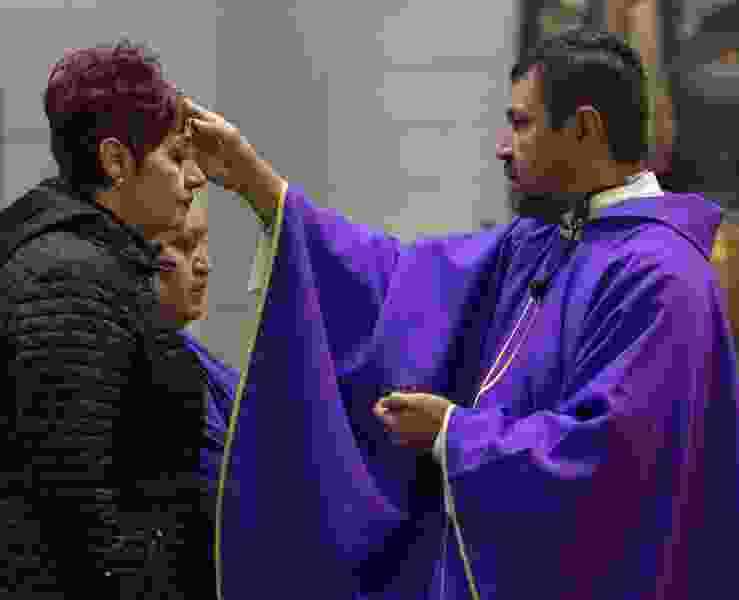 See photos as Utah Christians mark Ash Wednesday and countdown to Easter begins