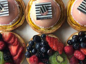 (Photo courtesy of Talisker Club)  Dessert tarts at Courchevel Bistro in Park City.