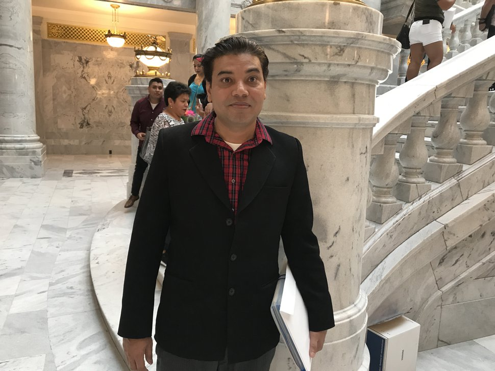Asif Ghouri, who came to the U.S. from Pakistan four years ago, became a naturalized U.S. citizen on Friday.
