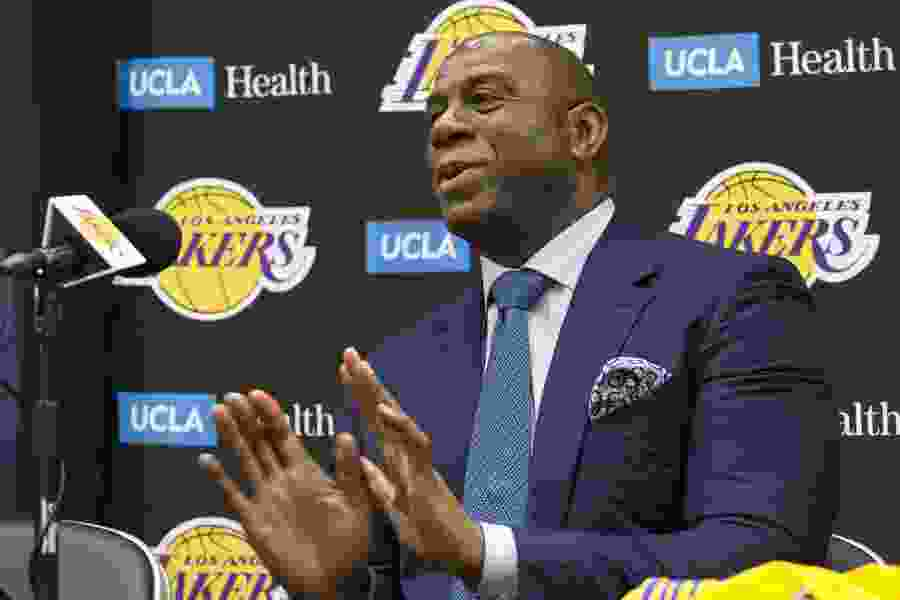 Magic Johnson resigns as Lakers' president