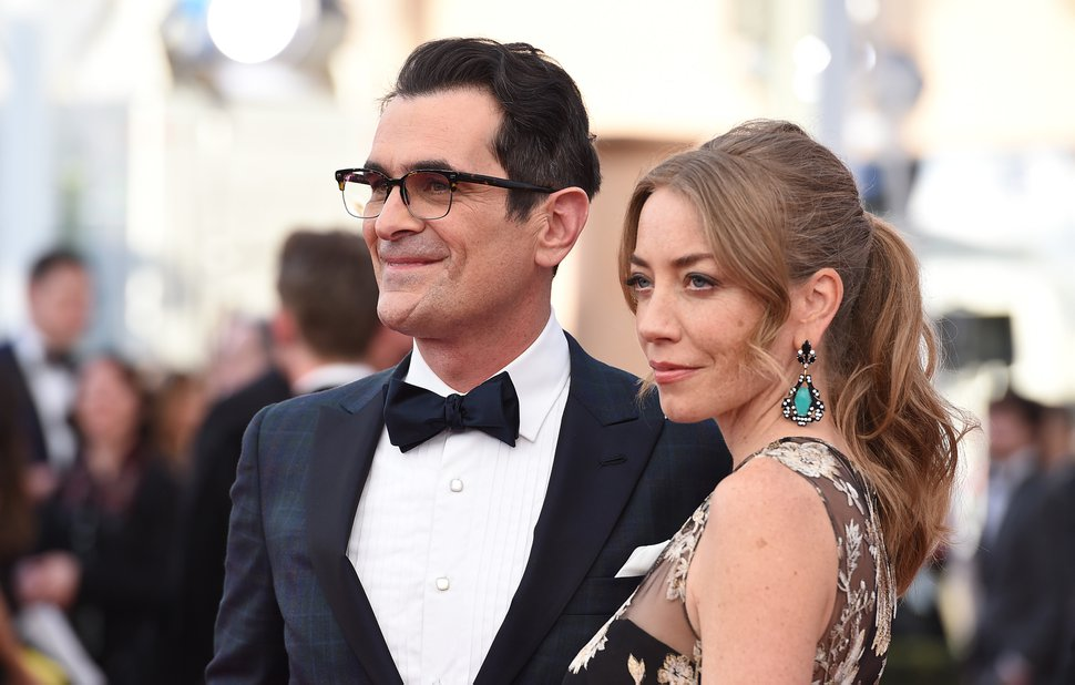(Jordan Strauss | Invision/AP file photo) Ty Burrell, left, and Holly Burrell arrive at the 22nd annual Screen Actors Guild Awards at the Shrine Auditorium & Expo Hall on Saturday, Jan. 30, 2016, in Los Angeles.