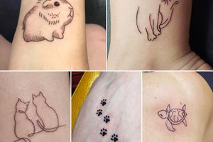 (Salt Lake County Animal Services) Tattoos provided to patrons at the Tats for Cats event at Fallen Angel Tattoos on June 4 and June 5.