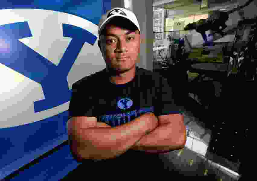 BYU center Joe Tufuaku has finally found his place with the Cougars after long journey to get here