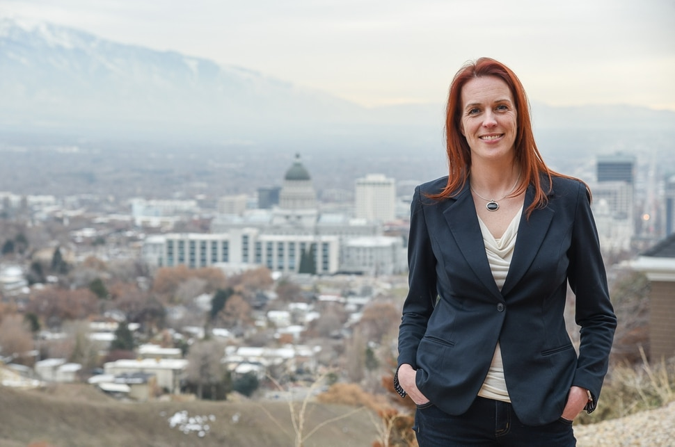 (Francisco Kjolseth | The Salt Lake Tribune) Jennifer Dailey-Provost, the Democratic representative elect in State House 24, currently lobbies for family medicine and primary care and is passionate about access to mental health care, addressing the needs of people experiencing homelessness, and the opioid epidemic.