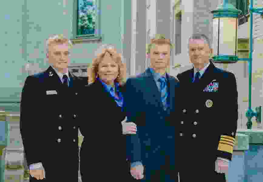 A Navy admiral lost his son to opioid addiction. Now, he's marshaling support to end the epidemic.