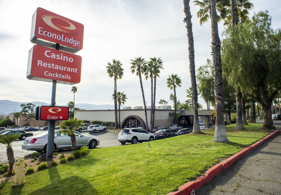 (Rick Egan | The Salt Lake Tribune) The Lake Elsinore Econo Lodge Casino in Lake Elsinore, California. Monday, April 8, 2019.